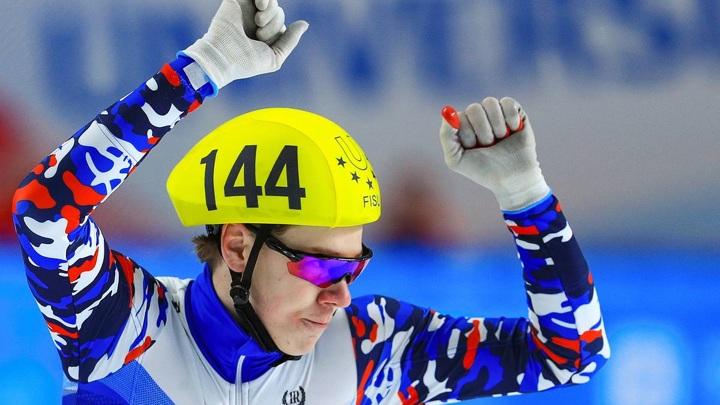 Константин Ивлиев стал чемпионом Европы по шорт-треку на дистанции 500 метров