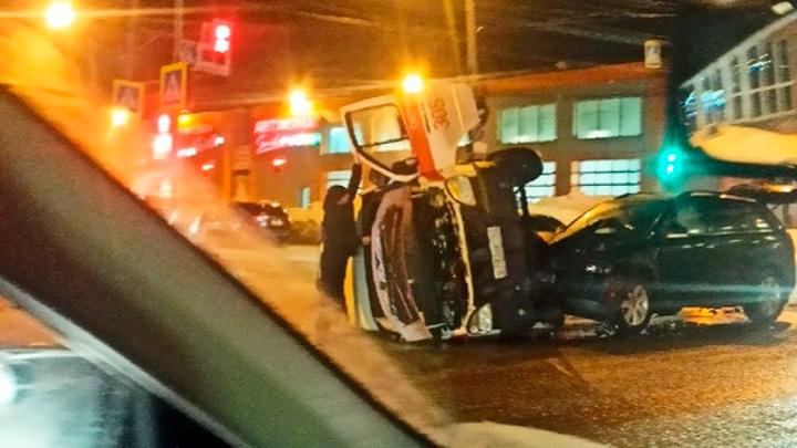 В Самаре произошло очередное ДТП со скорой
