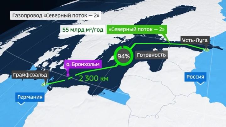 """Оператор """"Северного потока-2"""" сообщил о достаточности финансирования"""