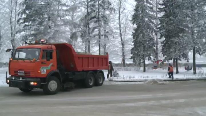 За работой спецтехники на улицах Иркутска можно наблюдать онлайн