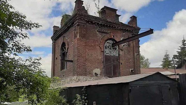 В Новосибирске столетнюю башню могут признать памятником
