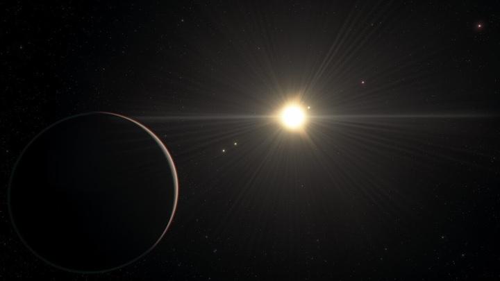 Планетная система TOI-178 поразила астрономов.