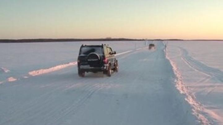 На Ямале из-за мороза закрыли все зимники