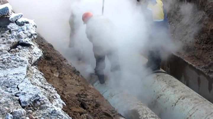 Более 600 жителей Забайкалья остались без тепла из-за прорыва трубопровода