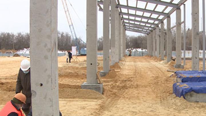 В Волгоградской области возводят новейший спортивно-досуговый центр
