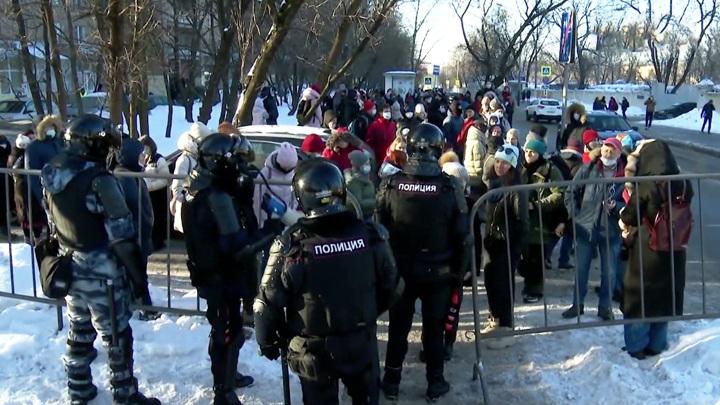 В Москве арестовали француза, участвовавшего в акции протеста