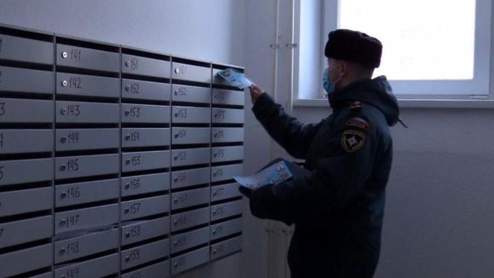 ВАрхангельске выявляют нарушение мер пожарной безопасности вподъездах домов