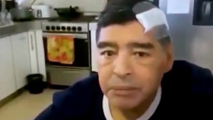 Опубликовано последнее прижизненное видео с Марадоной