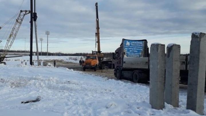 В Калуге началось строительство крытого футбольного манежа