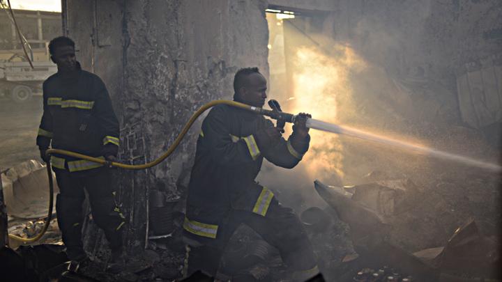 В сомалийской столице прогремел мощный взрыв