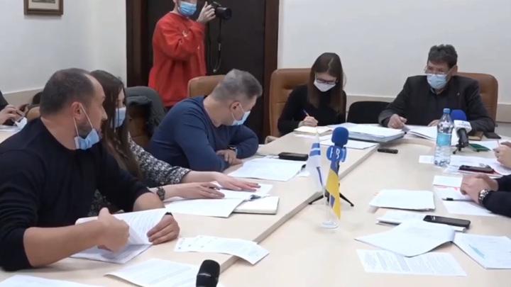 В городском совете Николаева произошла перепалка из-за использования русского языка