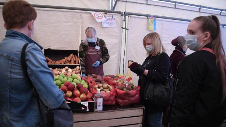 Правительство предписало регионам открывать фермерские ярмарки