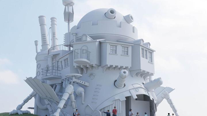 В Японии построят копию Ходячего замка из аниме Миядзаки