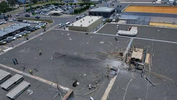 Самолет загорелся в саудовском аэропорту после атаки хуситов