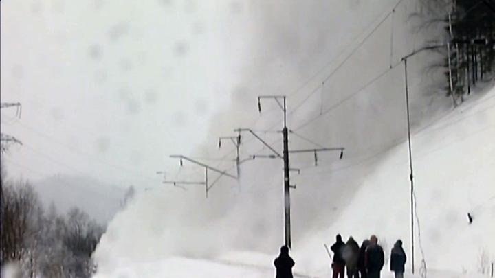 Над Красноярским краем нависли лавины