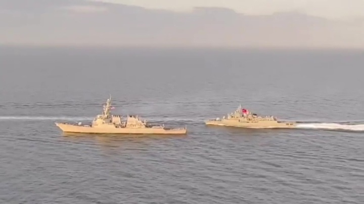 Российские дипломаты призвали ВМС США перестать бряцать оружием
