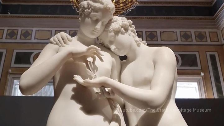 Эрмитаж открылся выставкой, посвященной образу Психеи в искусстве