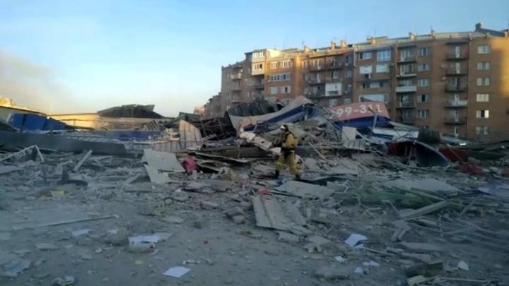 Мощный взрыв прогремел в супермаркете во Владикавказе
