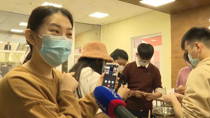 Китайские студенты хабаровских вузов встретили Новый год по Восточному календарю