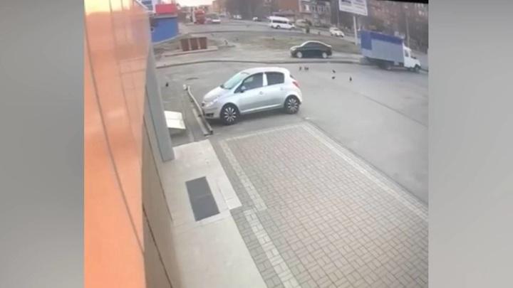 Мощный взрыв во Владикавказе попал на видео