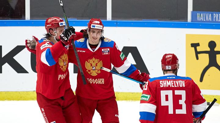 Российские хоккеисты стали досрочными победителями Евротура