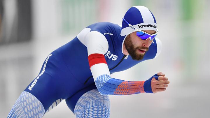 Конькобежец Румянцев завоевал бронзу чемпионата мира