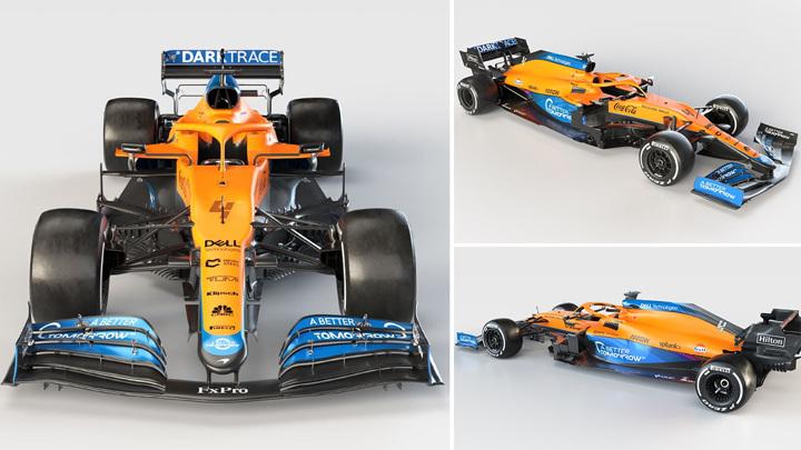 Формула-1. Команда McLaren представила новый болид