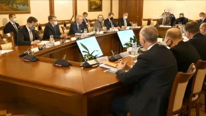 Губернатор Ленобласти и глава МИД Финляндии обсудили возможность открытия границ