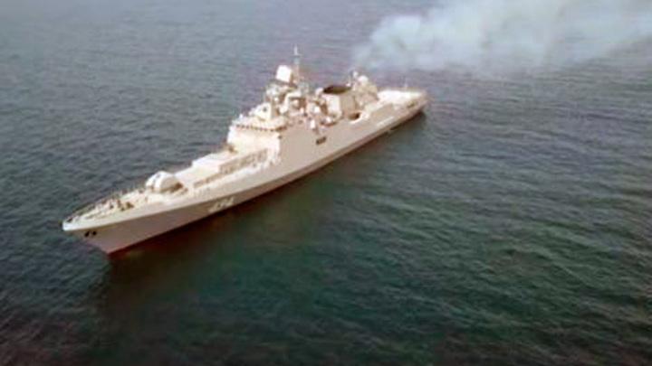 Корабли Черноморского флота и НАТО прошли в одном строю на учениях