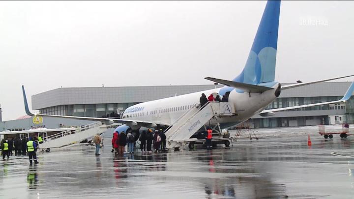 Волгоградский аэропорт расширяет географию полетов на юг России