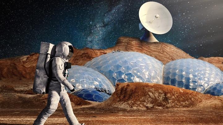 Покорителям Марса придётся полагаться на местные ресурсы.