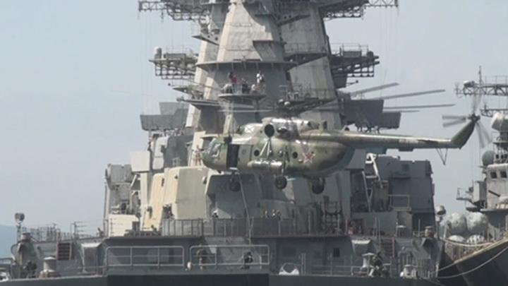 Крупнейший крейсер в мире отправляют на металлолом