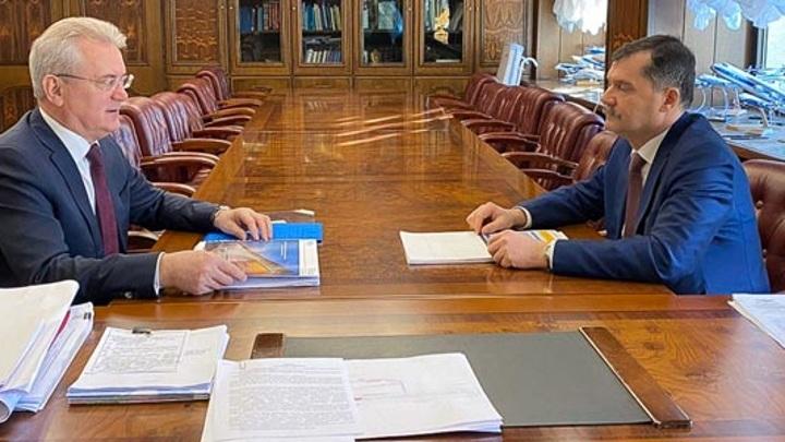 Губернатор Пензенской области обсудил с главой Росавиации реконструкцию аэропорта