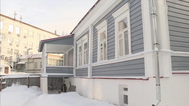Во Владимире завершилась реставрация Дома-музея Столетовых