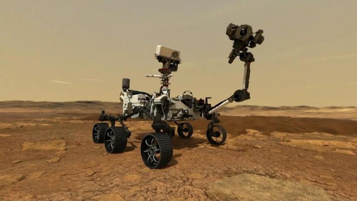 Марсоход Perseverance поможет ответить, была ли жизнь на Красной планете