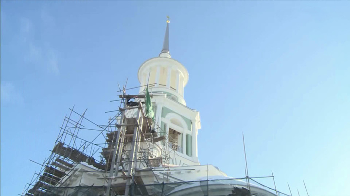 Идет реставрация Новоторжского Борисоглебского монастыря