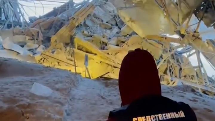 Ростехнадзор расследует причины обрушения фабрики в Норильске