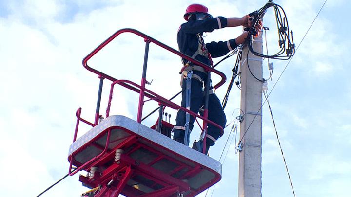 В горных селах Кубани продолжается восстановление электроснабжения