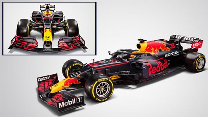 Формула-1. Команда Red Bull презентовала машину сезона-2021