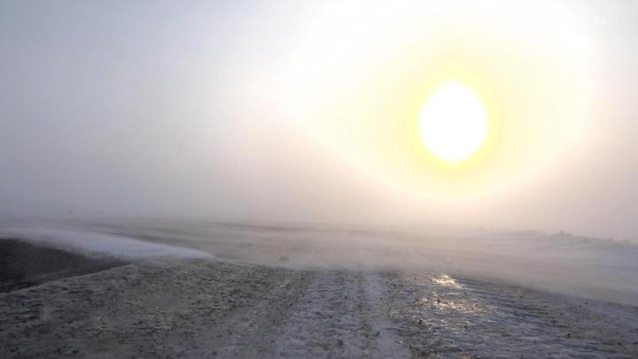 Москвичам пообещали сегодня метель и потепление