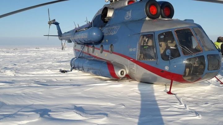 Частный вертолет Ми-8 пропал на Камчатке