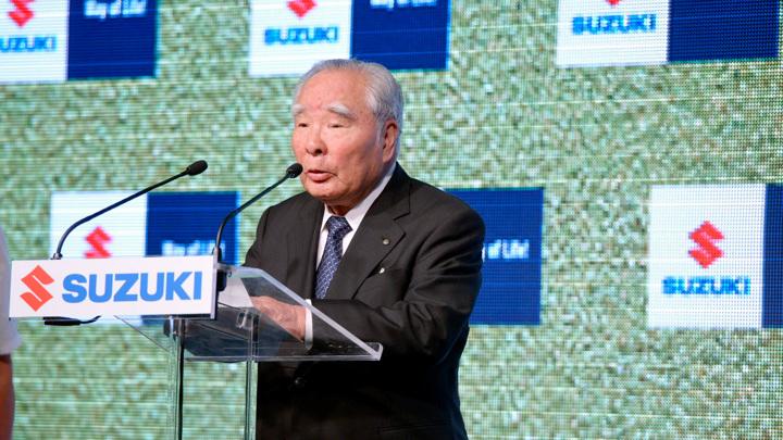 Глава Suzuki уходит в отставку после 40 лет работы