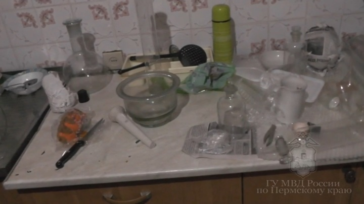 Юный агроном из Перми устроил нарколабораторию в съемной квартире