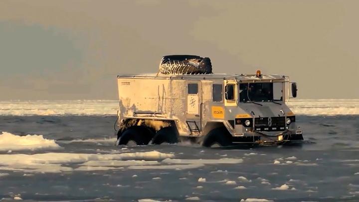 В Кургане запускают серийное производство арктических вездеходов