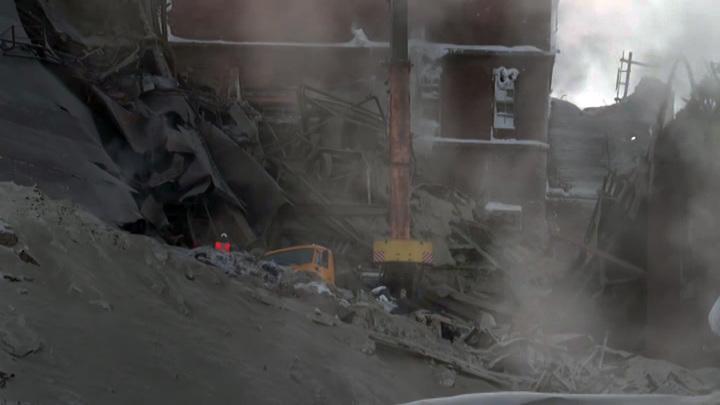 Названа вероятная причина обрушения на фабрике в Норильске