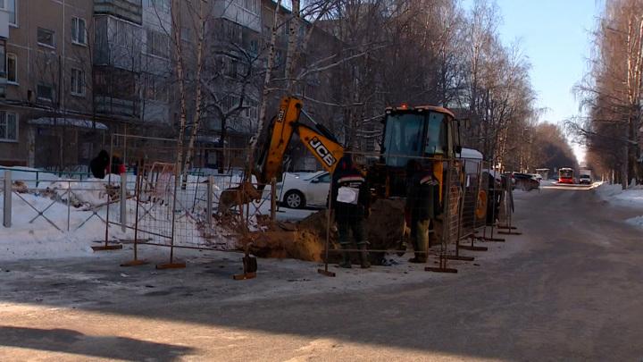 Из-за сильных морозов в Перми произошло больше сотни коммунальных аварий