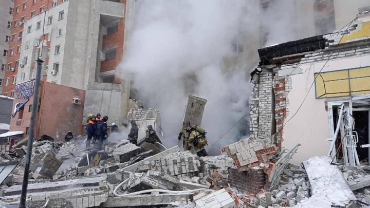 Момент взрыва в Нижнем Новгороде попал на видео