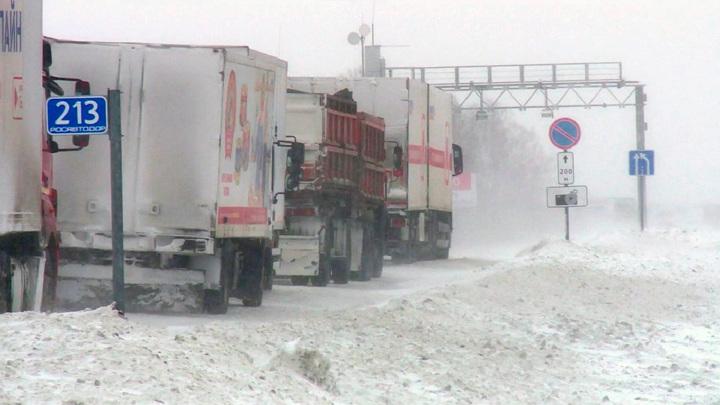 Из-за плохих метеоусловий в Алтайском крае закрыли трассы