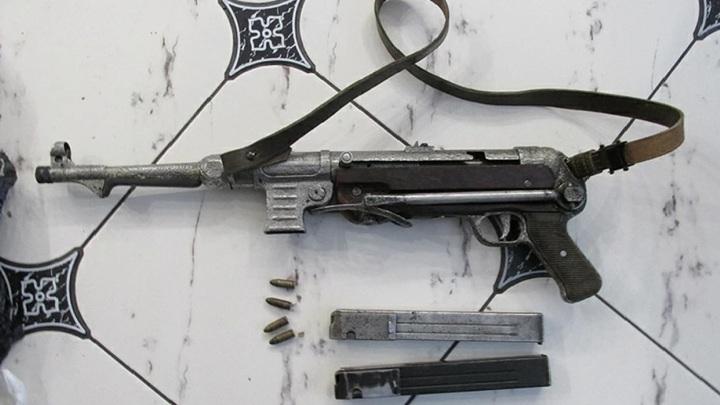 Арсенал исправного оружия времен ВОВ изъят в Белгородской области