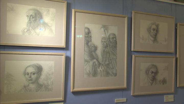 В Государственном музее Пушкина открылась выставка работ Бориса Непомнящего